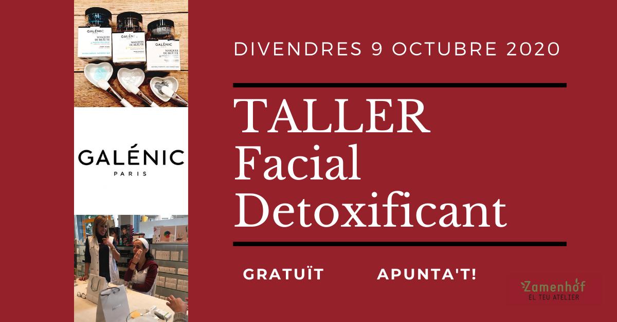 Taller Detox Facial