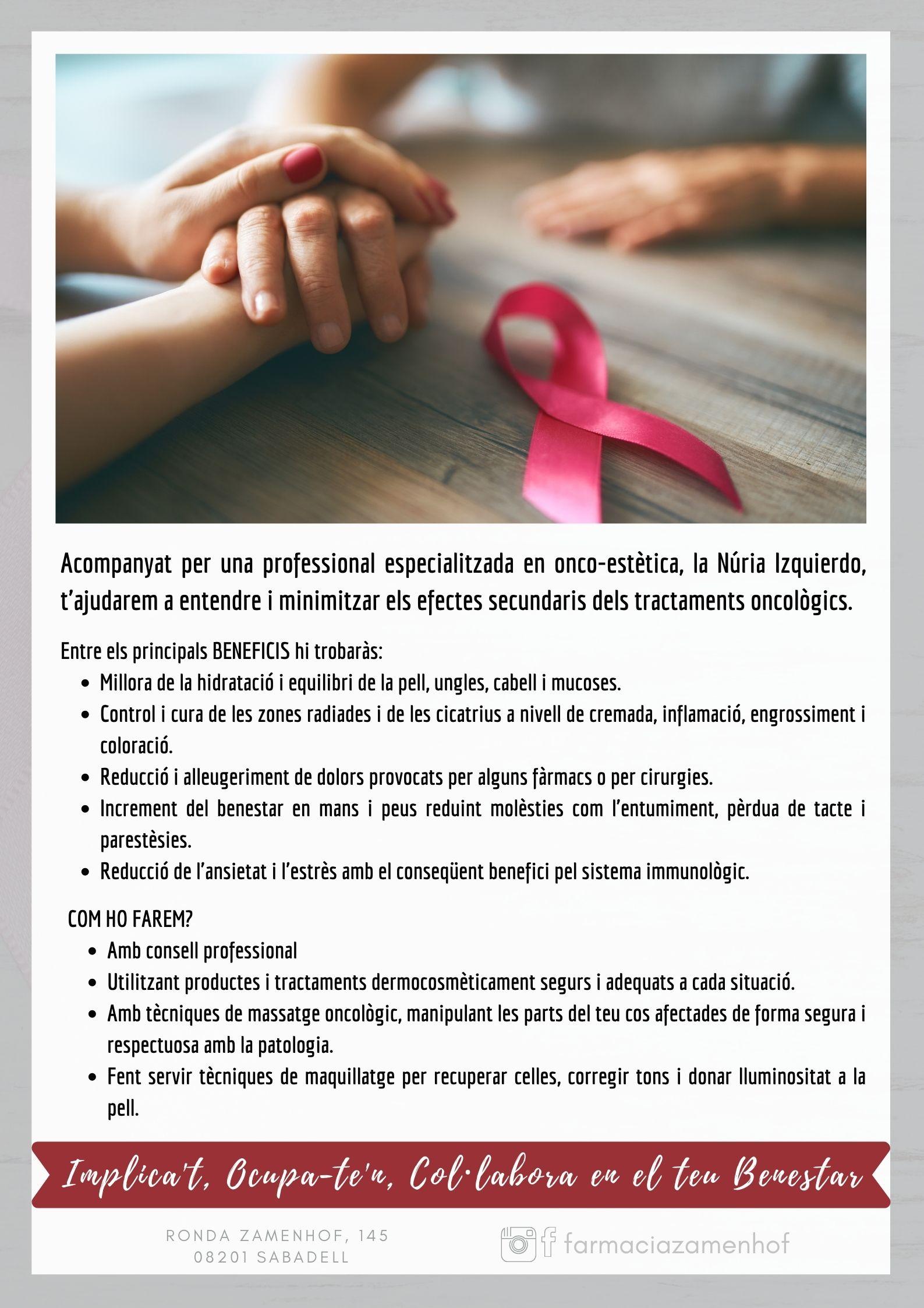 Servei d'Acompanyament al malalt oncològic