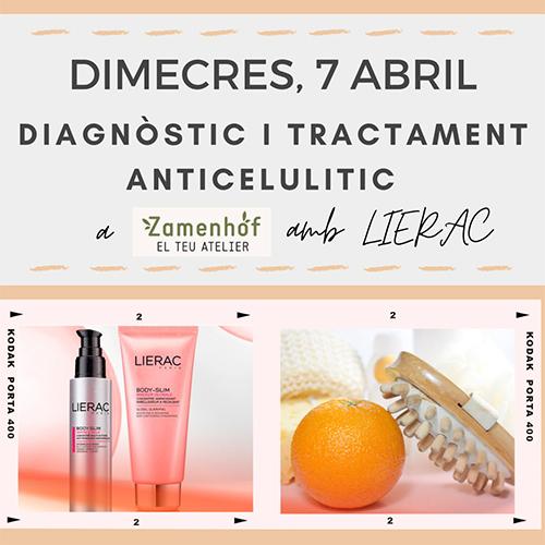 Diagnòstic Anticelulitic amb Lierac